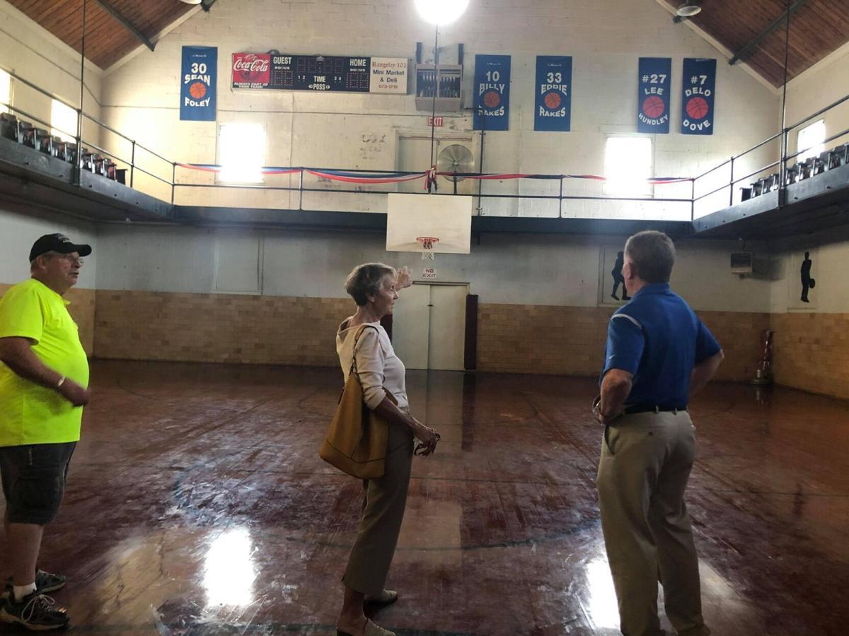 Fieldale Recreation Center inside gym