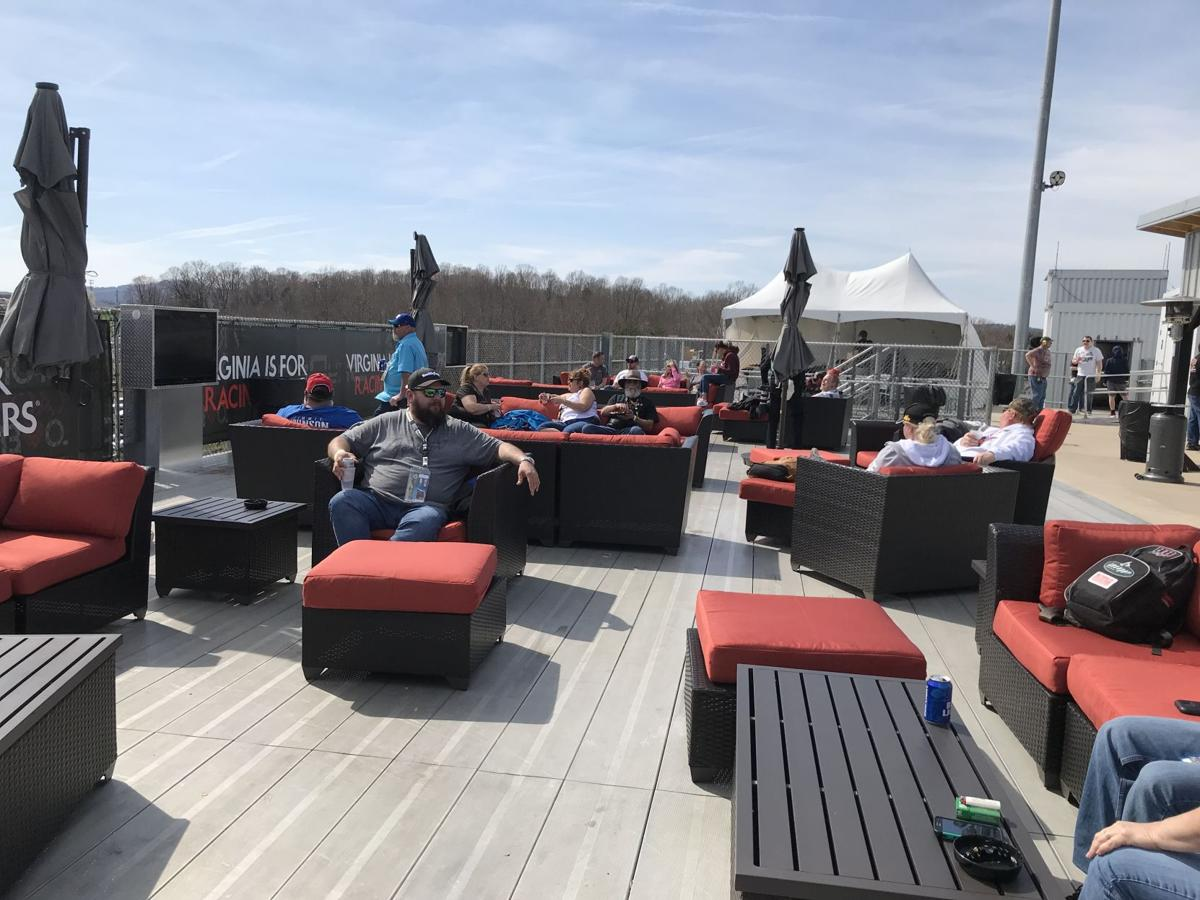 skydeck couches area