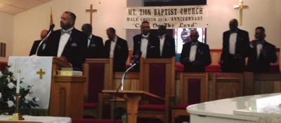 Male Chorus celebration