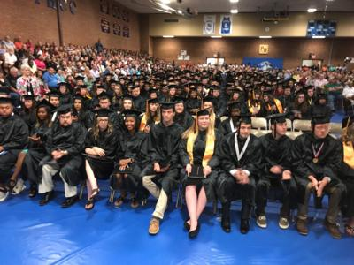 Patrick Henry Community College graduates