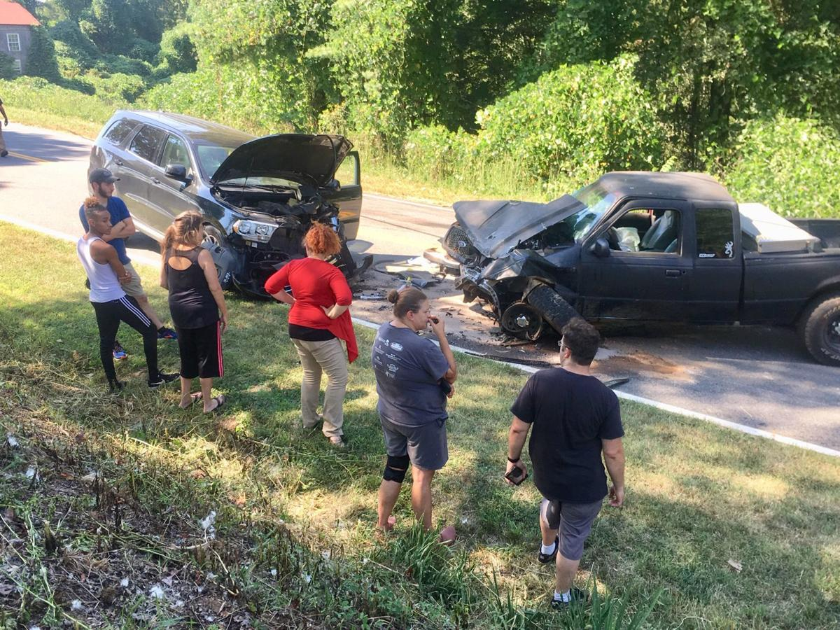 Accident on Dillons Fork Road