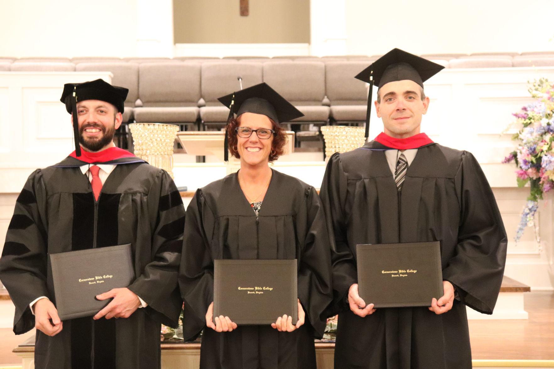 Cornerstone graduates