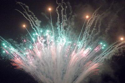 Fireworks at Speedway