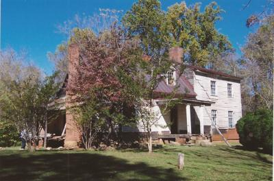 It's difficult to know the oldest houses in the area, but historians focus on two centuries-old structures along the Patrick-Henry border