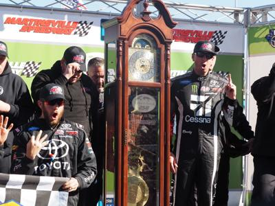 Kyle Busch wins Truck Series at Martinsville