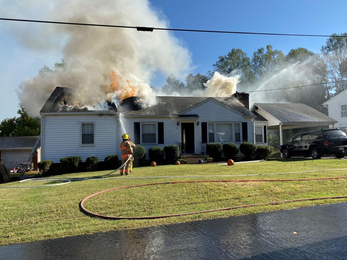Fire at 214 Seminole Drive