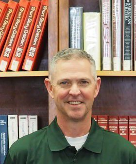 PCHS Athletic Director Terry Harris