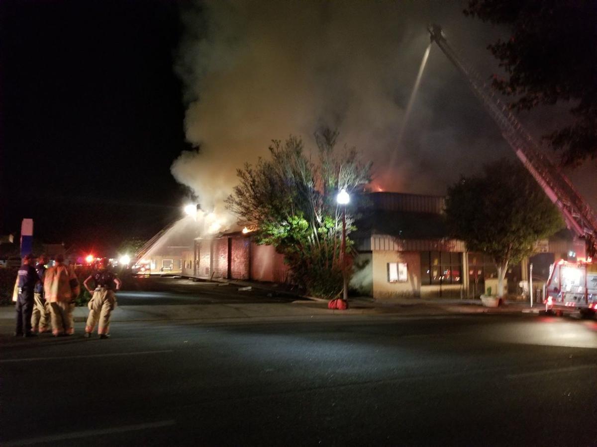 Rives Theatre Fire