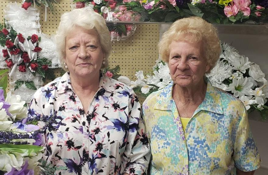Shirley Amos and Ester Waller