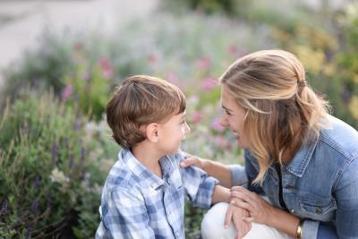 Jessica Janssen and son