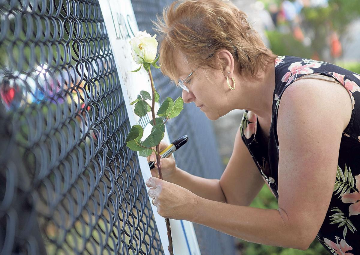 Vigil held for victims