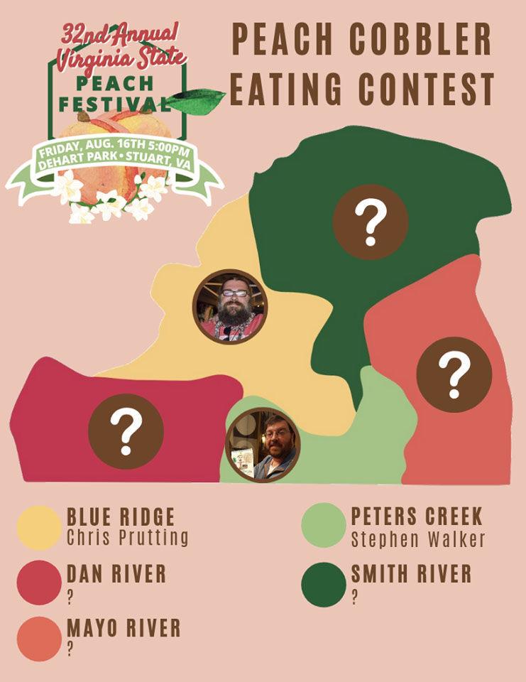 Peach cobbler contest