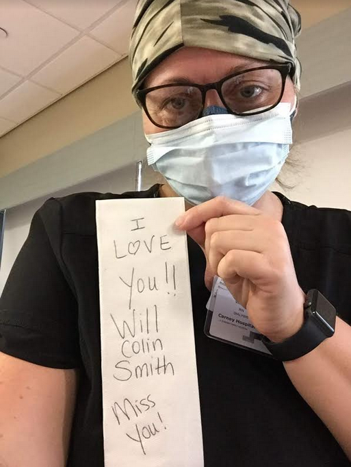 Martinsville nurse runs to front lines of COVID-19