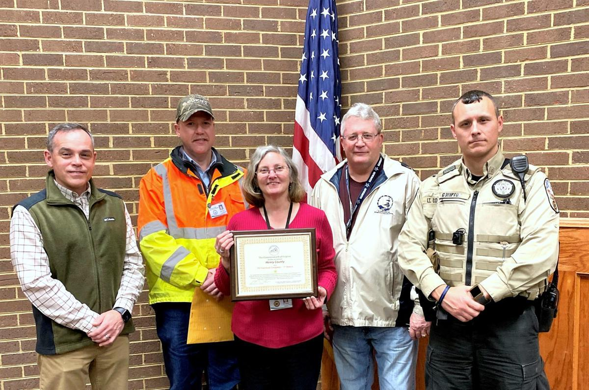Henry County recognized