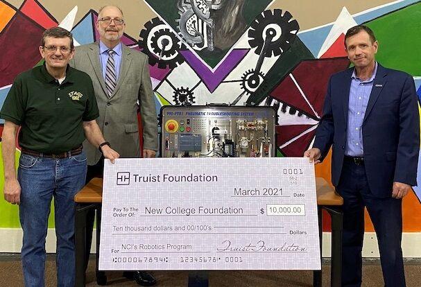 NCIF robotics donations
