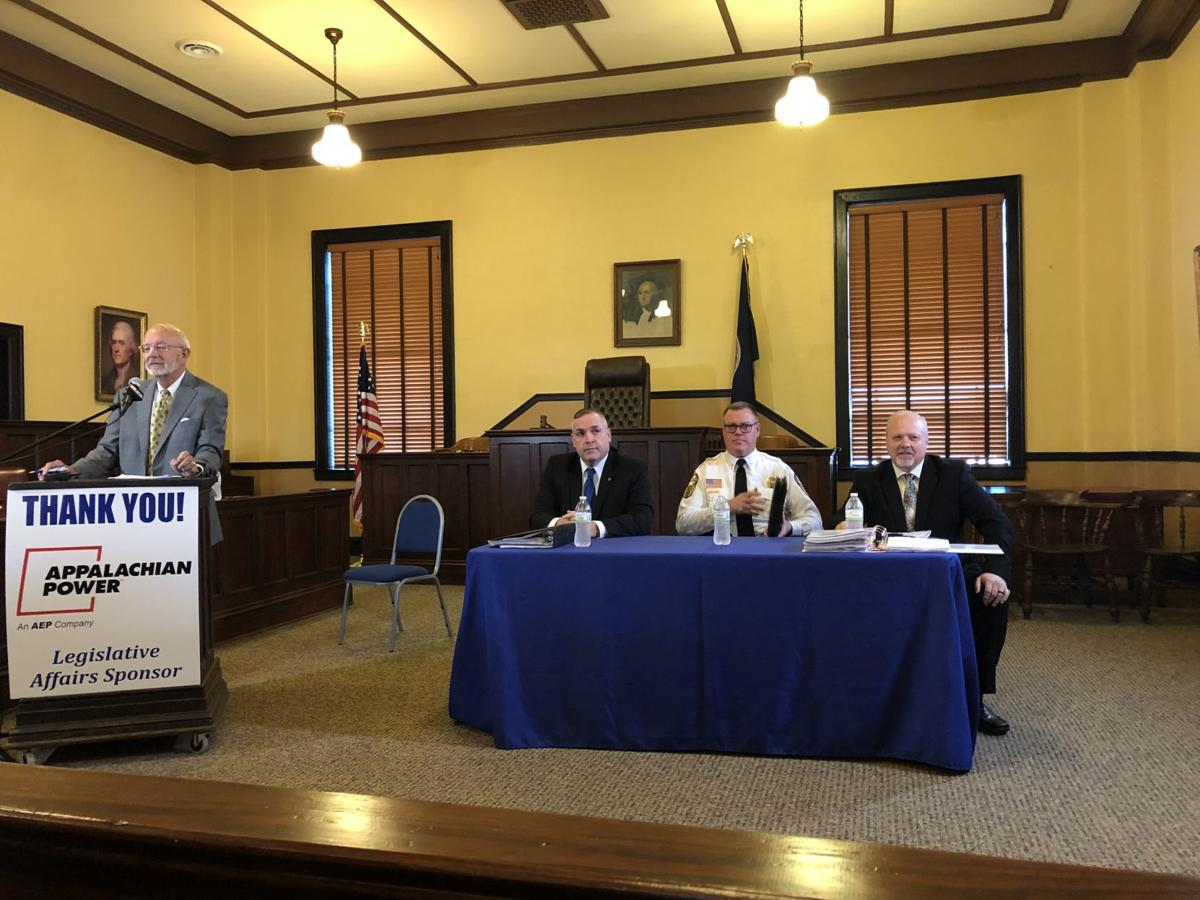 Candidates for Henry County Sheriff sell themselves at