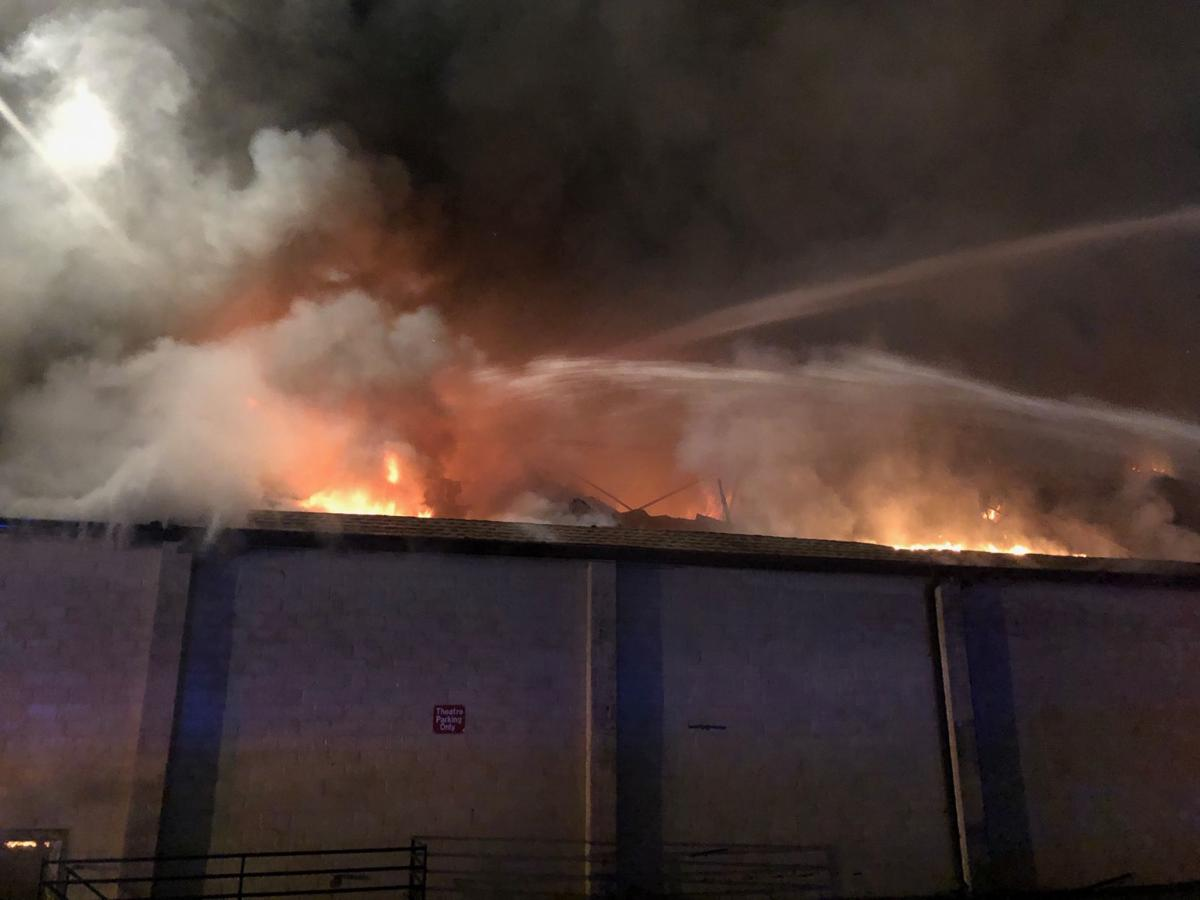 Rives Theatre in Martinsville expected to be total loss