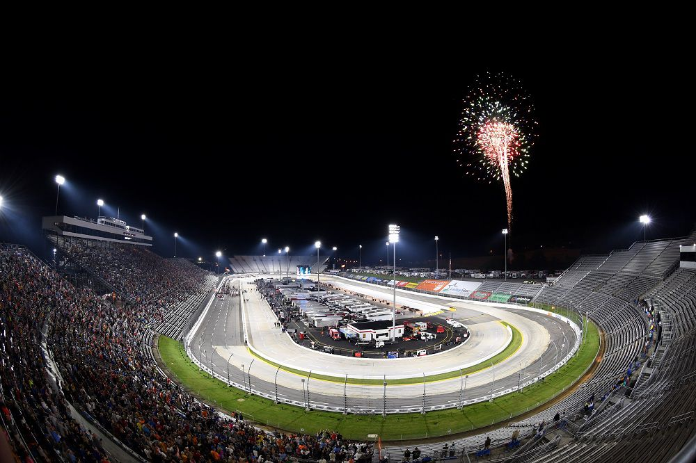 Martinsville speedway lights get racing world talking sports martinsville speedway aloadofball Gallery