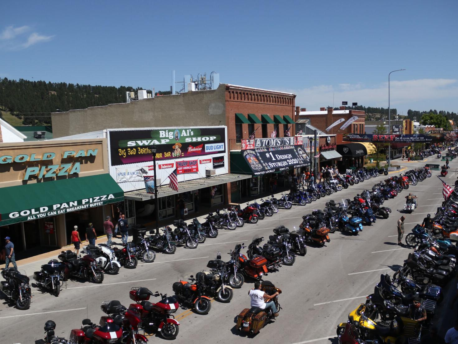 Watch Now More Than 460 000 Attended Sturgis Motorcycle Rally National News Martinsvillebulletin Com