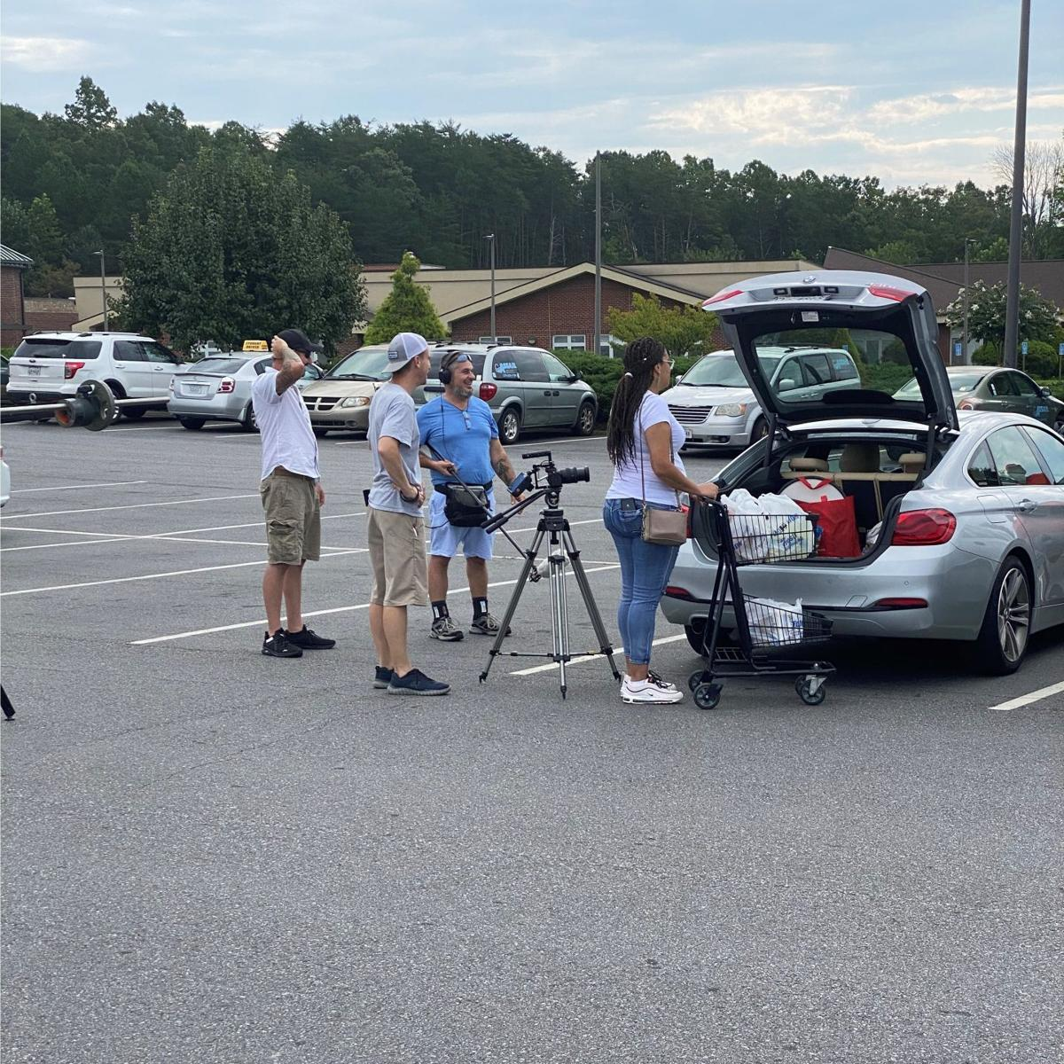 Sc parking lot filming
