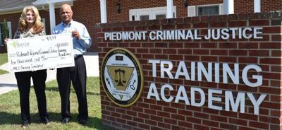 Piedmont Regional Criminal Justice Training Academy grant