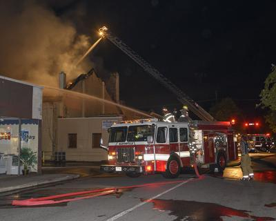 Rives Theatre Fire