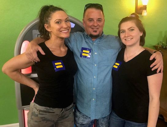 Martinsville gay pride celebration