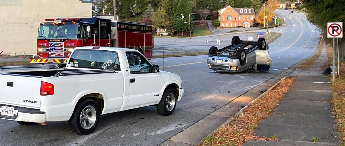 Wreck in Martinsville