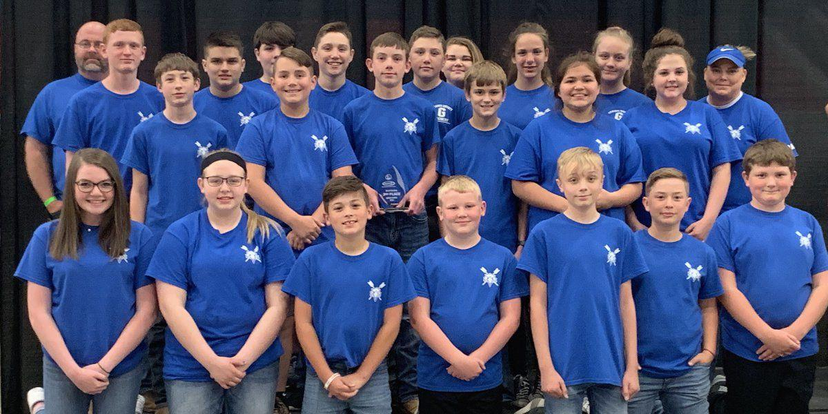GCHS 2nd, GCMS 3rd at archery nationals