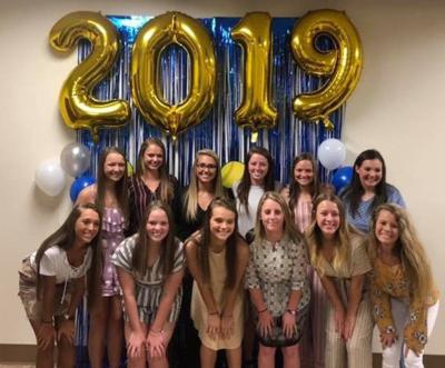 Lady Eagle softball celebrates season