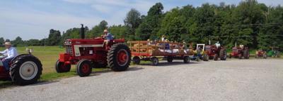 tractor drive photo