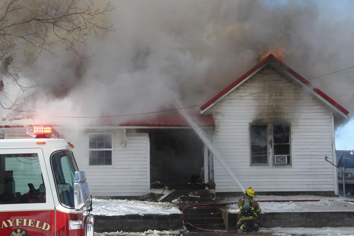 MFD battles house fire, cold temps