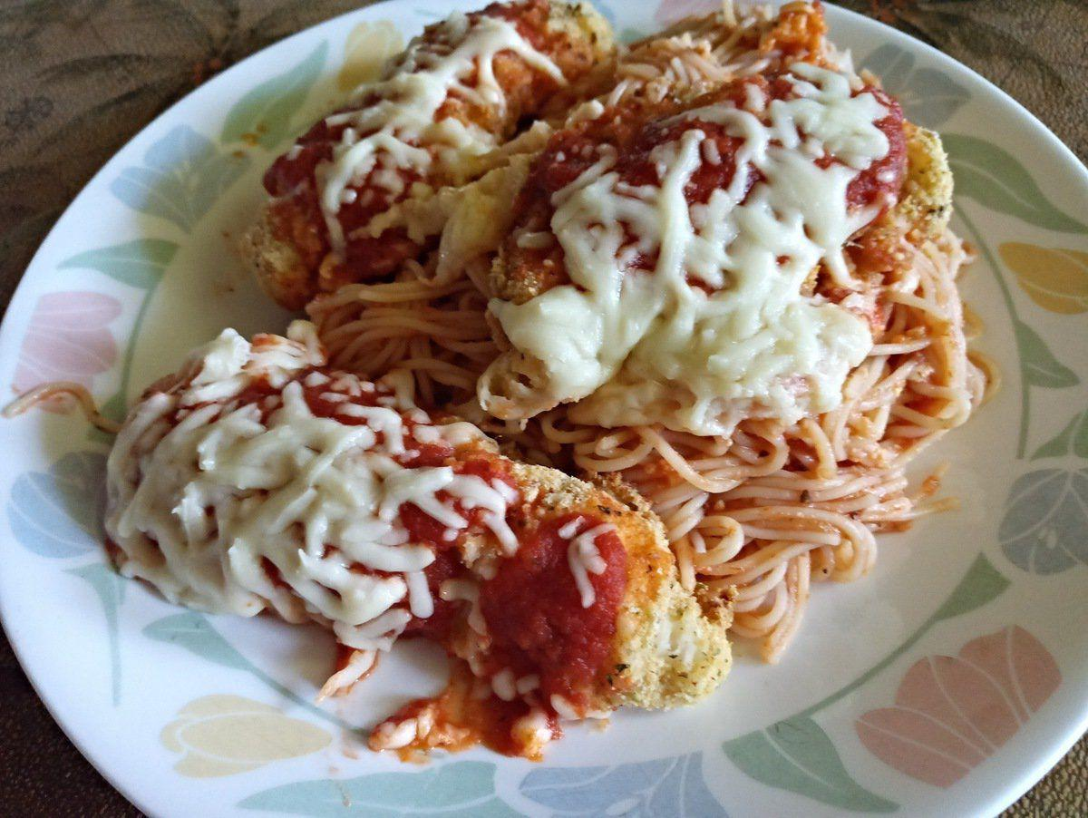 Quick chicken parmesan makes for fancy dinner