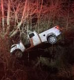 Man injured in early morning collision PHOTO