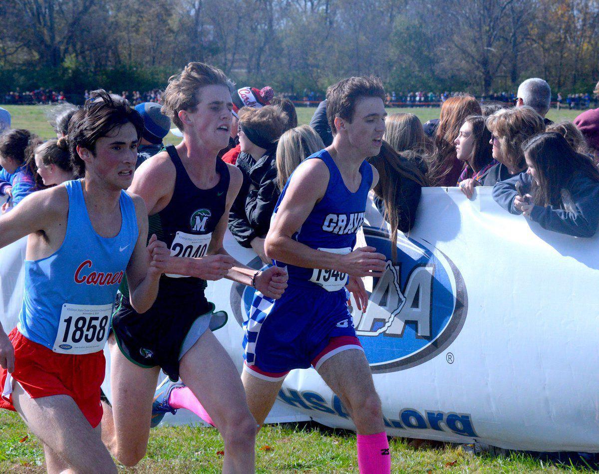 Graves girls' team, pair of boys run at state meet