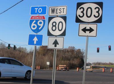 Last section of Ky. 80 to open this morning - photo