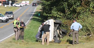 Five injured in single vehicle crash Wednesday - photo