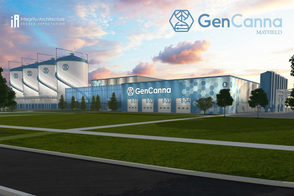GenCanna Mayfield facility rendering