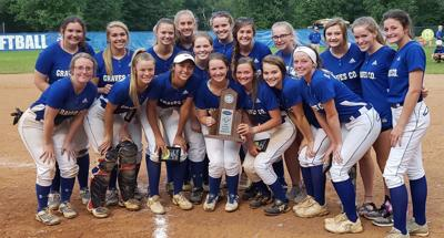 1st Region Softball Tournament Runner-up Graves County Lady Eagles