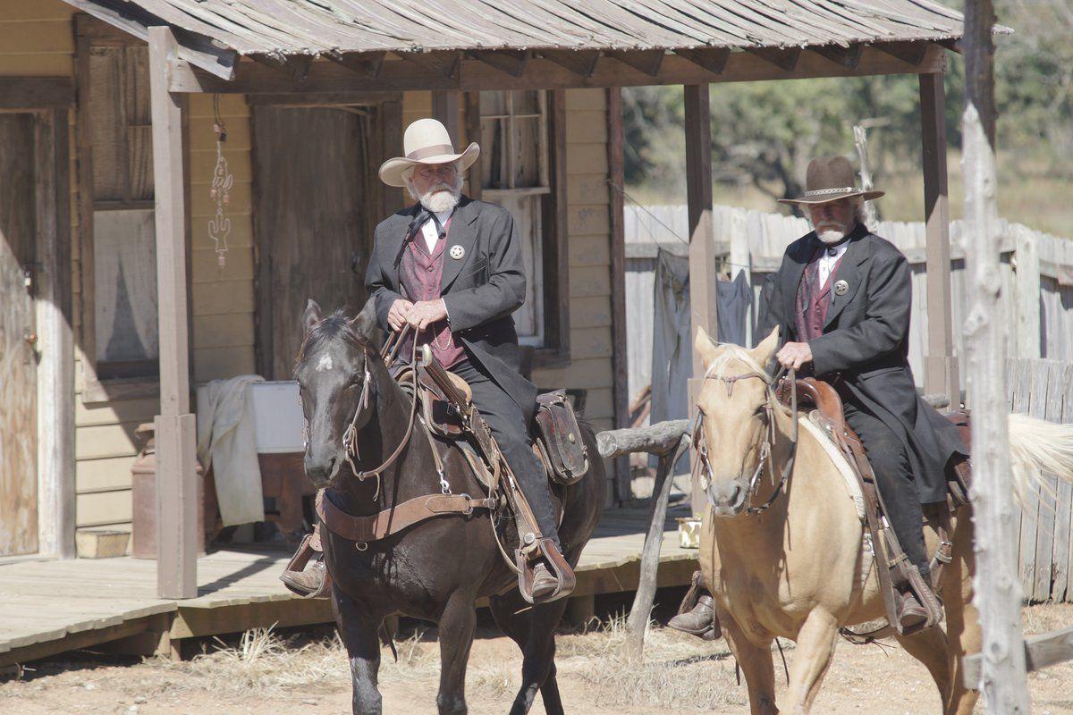 Graves twins ride high as cowboy movie stars