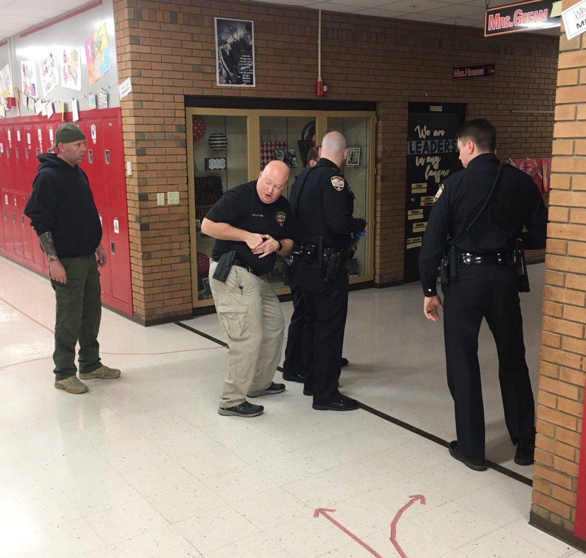 MPD undergoes active shooter training at Mayfield Middle
