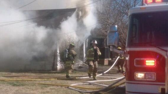 MFD battles Ridgeway house fire