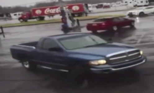 Truck stolen from gas station parking lot PHOTO 1