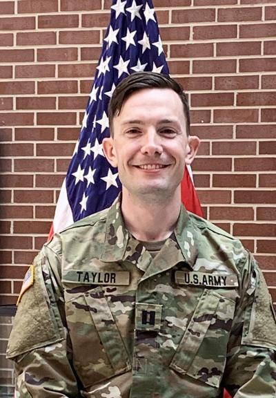 Army promotes Taylor to captain