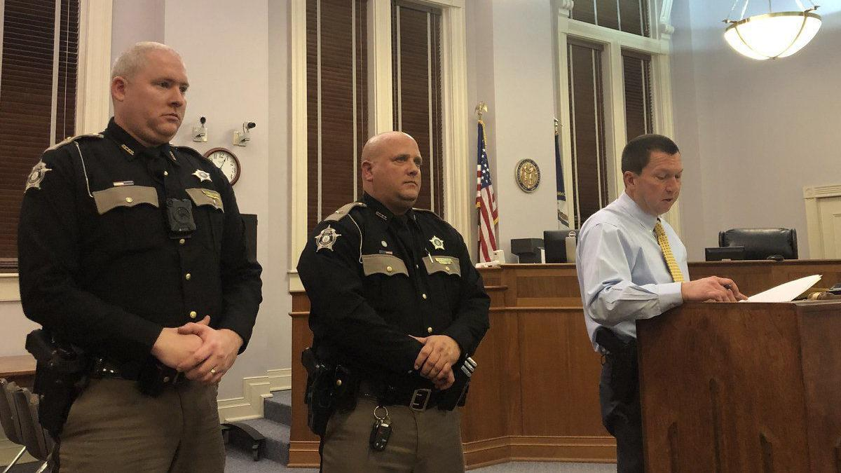 Graves County deputies earn special recognition for going 'above, beyond'