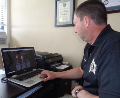 Sheriff's department posts website PHOTO 1