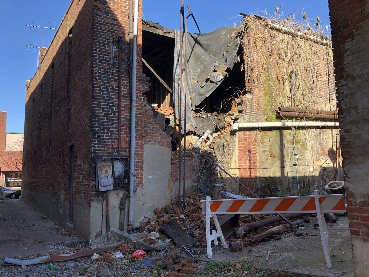 Downtown business owners voice concern over looming demolition