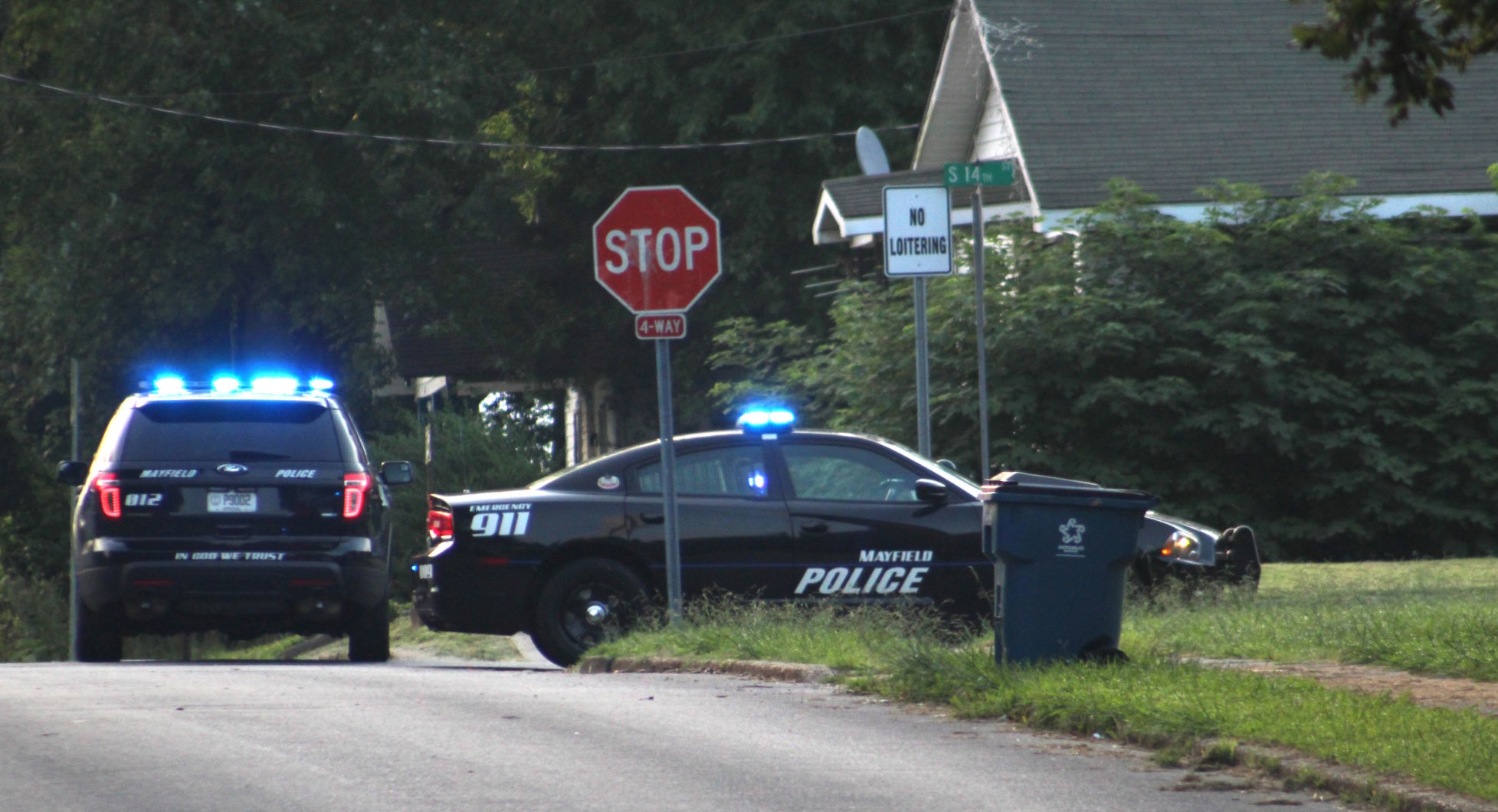 Two-hour standoff results in assault, fleeing charge