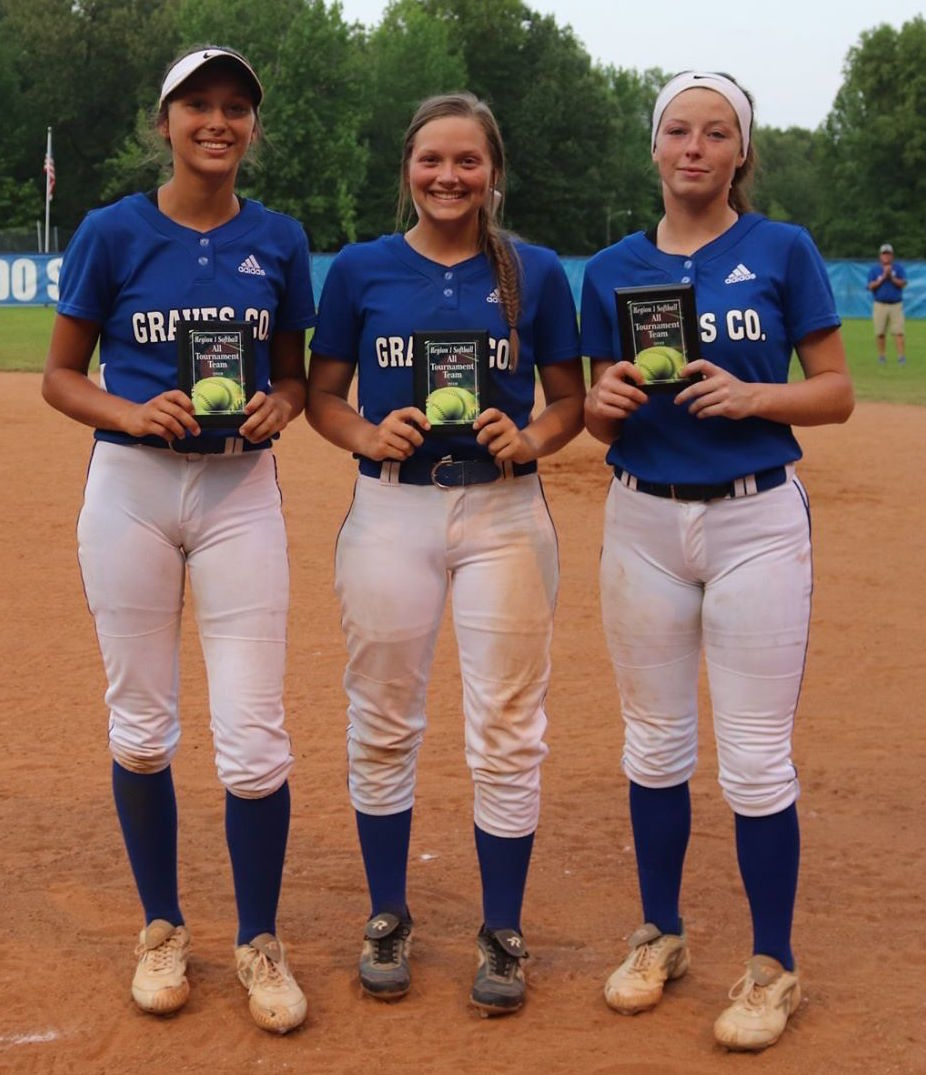 All-Tournament Lady Eagles