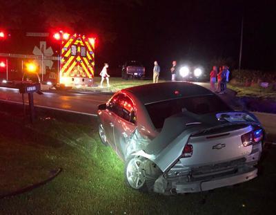 4 injured in Ky. 303 crash
